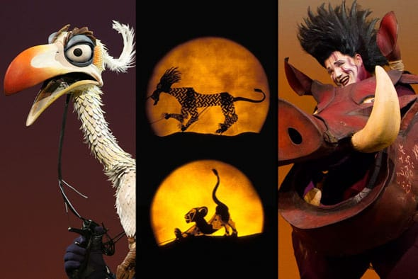 <p>There are more than 232 puppets in the show, including rod, shadow and full-s…