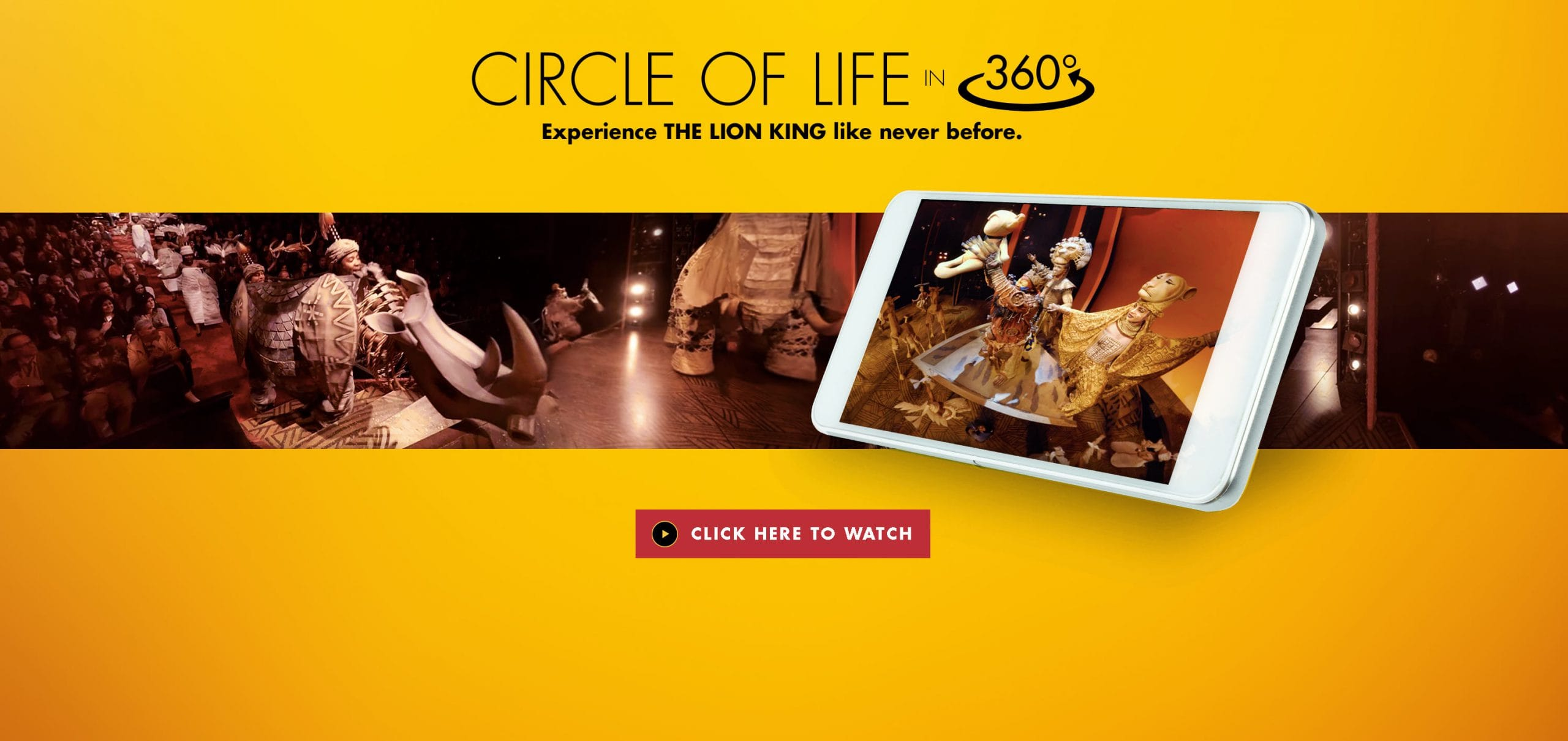 Circle of Life in 360 - Experience THE LION KING like never before - WATCH IT NOW