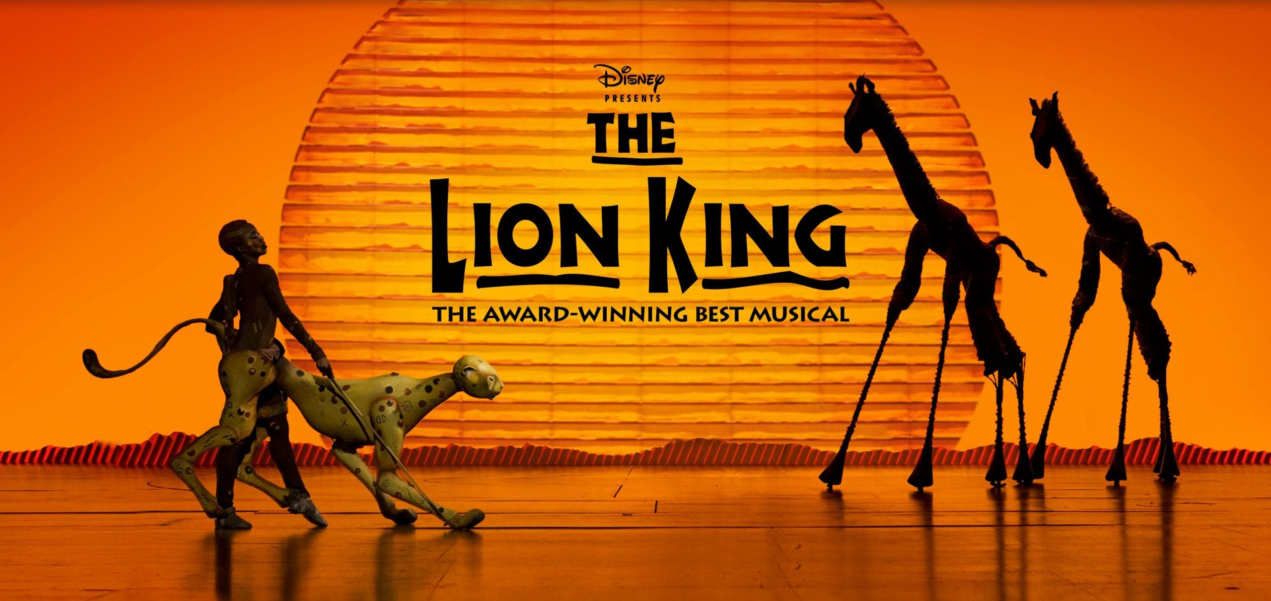 THE LION KING - The Award Winning Best Musical
